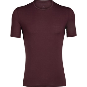 Icebreaker Anatomica T-shirt Herrer, rød